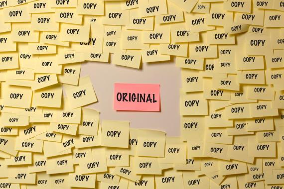 Copia y originales