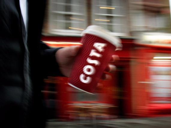 Costa Coffee es un importante competidor de Starbucks.