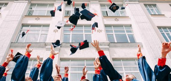 graduados, universidad, alumnos