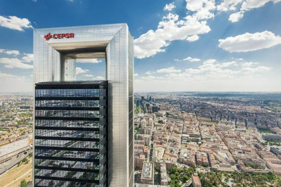 Imagen de la Torre Cepsa en Madrid.