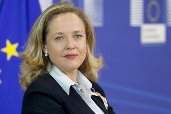 ministra de Economía y Empresa, Nadia Calviño