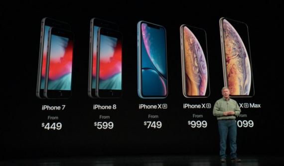 Apple's 2018 iPhone lineup does not include the iPhone SE.