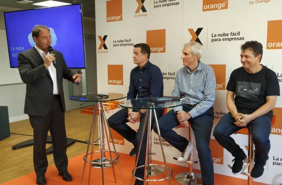 Presentación de X by Orange.