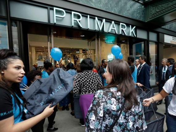 Primark is the fastest-growing retailer in the US.