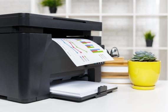Una impresora inalámbrica puede evitar imprevistos