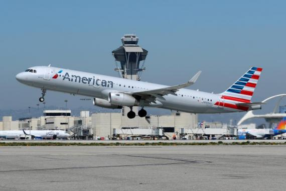 American Airlines Airbus A321.