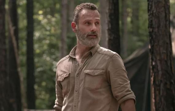 "Andrew Lincoln en ""The Walking Dead"""