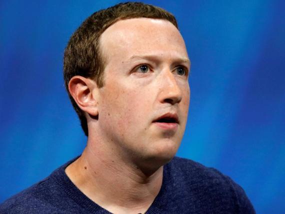 El CEO de Facebook, Mark Zuckerberg.