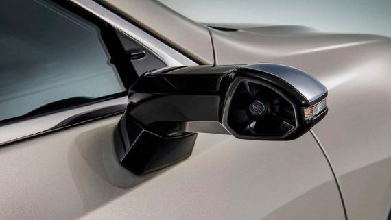 Retrovisor digital del Lexus ES