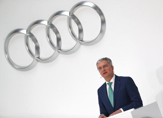 Rupert Stadler, ya ex CEO de Audi.