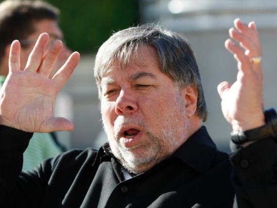 El cofundador de Apple, Steve Wozniak.