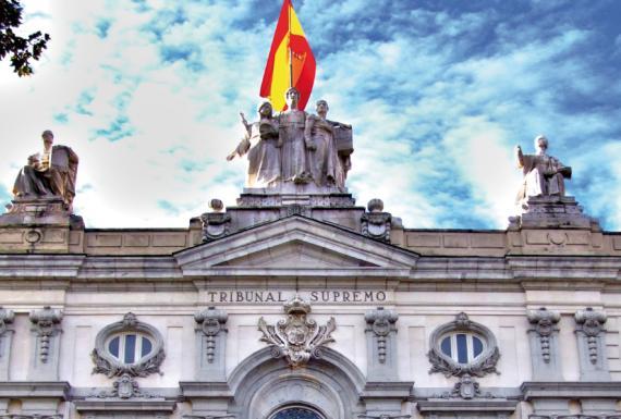Tribunal Supremo en Madrid.