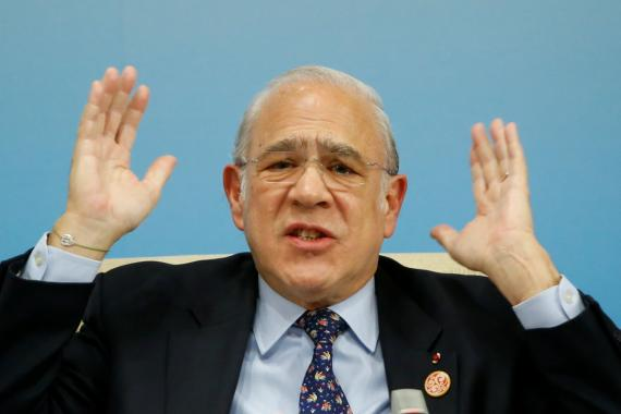 Angel Gurría, secretario general de la OCDE.