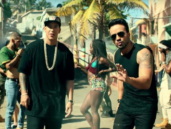 """Despacito,"" el vídeo de YouTube más visto."