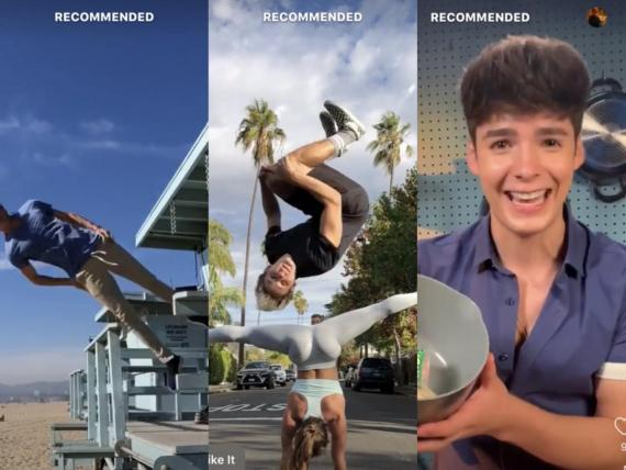 Facebook just launched a standalone video app called Lasso and it's basically the exact same thing as TikTok