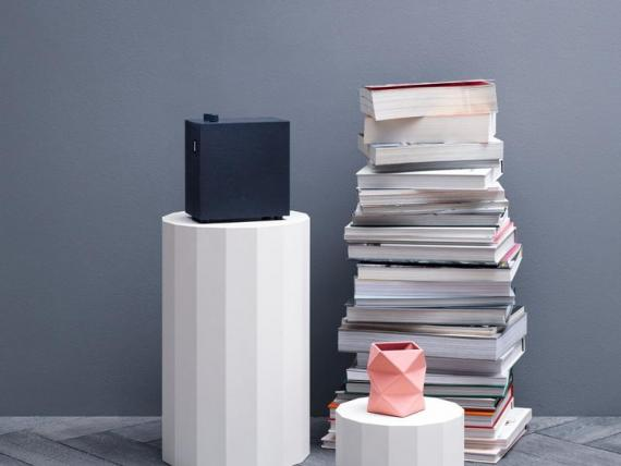 A stylish, minimalist speaker with serious sound