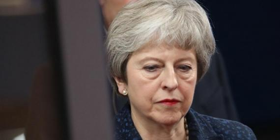 Theresa May is in Brussels to meet with EU leaders.