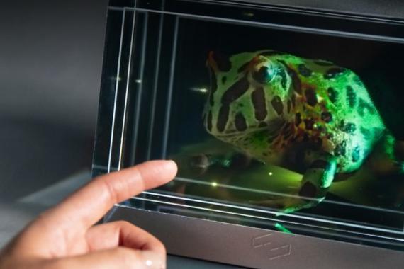 La pantalla holográfica inspirada en Star Wars que puedes comprar (si tienes 10.000$)