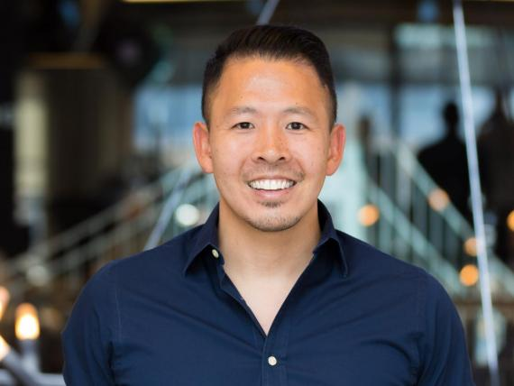 """It's easy to have strong values when things are going well,"" said Justin Angsuwat, pictured."