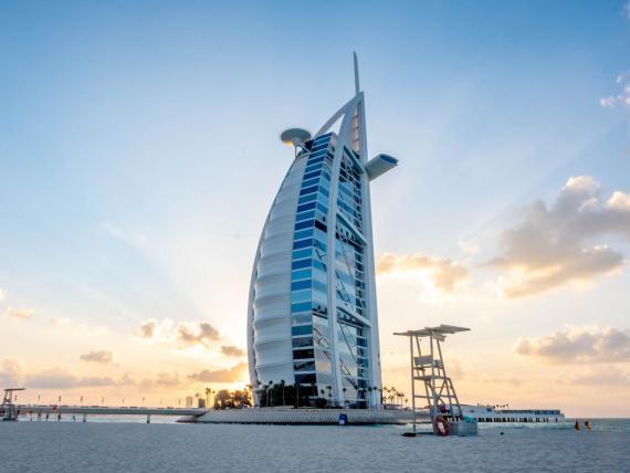 El Burj Al Arab en Dubai.