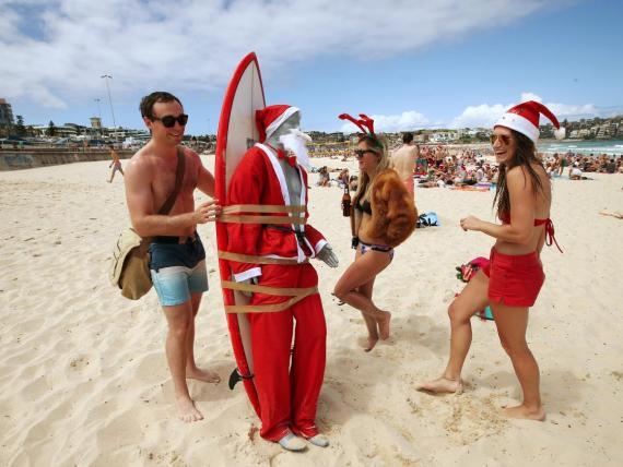 Las navidades en Australia.