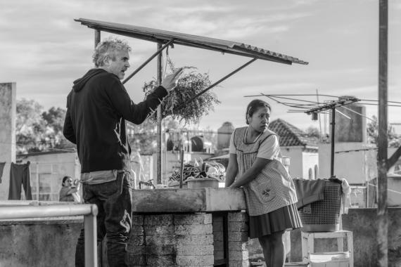 Un fotograma de la película Roma, de Alfonso Cuarón.