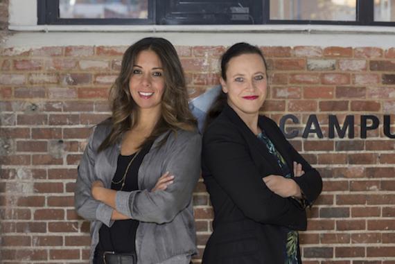 Clelia Morales y Laurence Fontinoy, fundadoras de Woom.