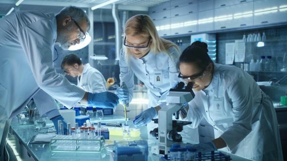 Grupo de científicos