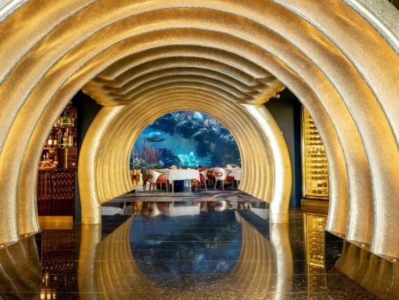 I ate at the flagship restaurant of the $1 billion hotel considered the most luxurious in the world and quickly realized the $500 price tag wasn't for the caviar and oysters