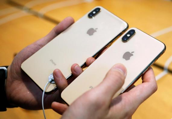 iPhone XS.