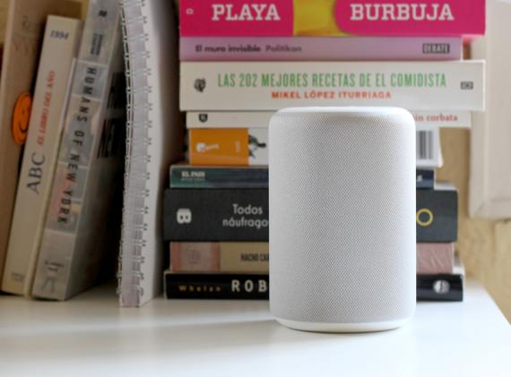 El nuevo altavoz inteligente de Amazon Echo Plus.