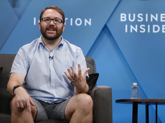 El CTO de Slack, Cal Henderson, en el foro de Business Insider IGNITION.