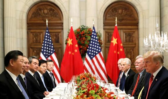 Trump y Xi Jinping, durante una reunión bilateral en la cumbre del G20.
