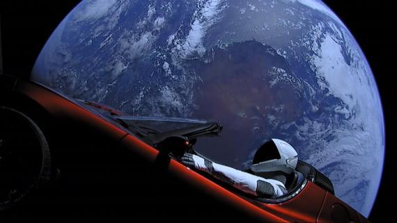 ¿Veremos otros Tesla en el espacio en 2019?
