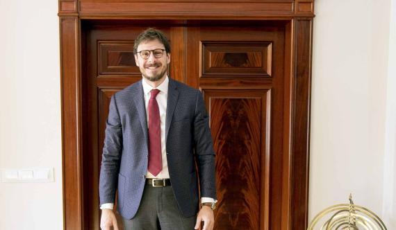 Conrado Briceño, CEO de la Universidad Europea