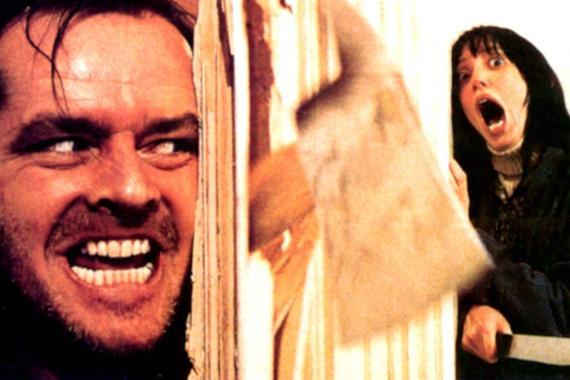 Un fotograma de la película El Resplandor.