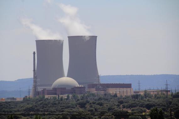 La central nuclear extremeña de Almaraz.