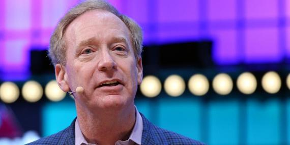 Brad Smith, Presidente y principal abogado de Microsoft.