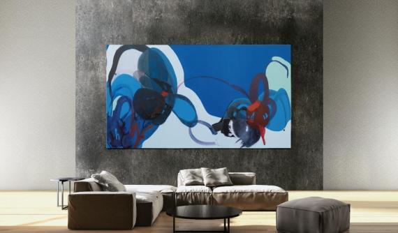 Más que un simple televisor, The Wall se concibe como un medio para exponer arte.