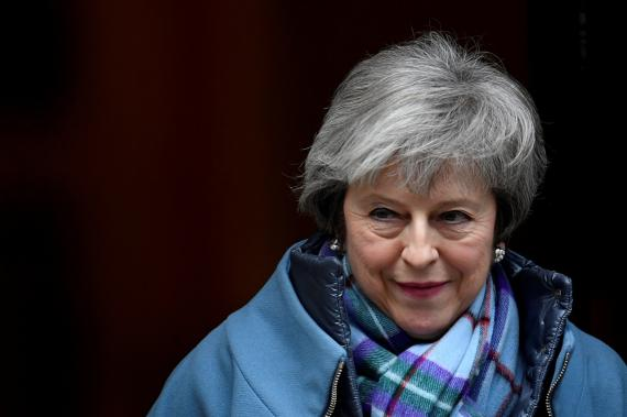 Theresa May, actual primera ministra del Reino Unido.