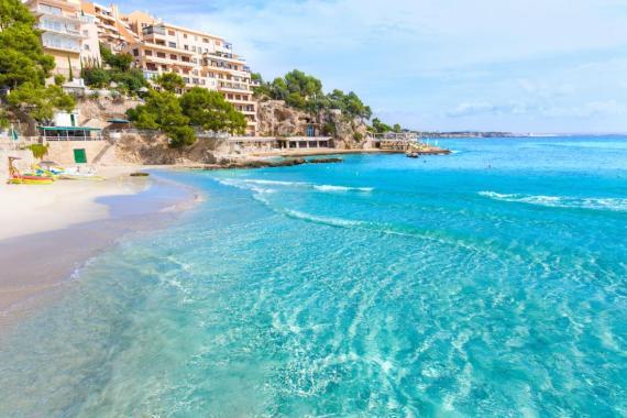 13. Playa de Ses Illetes, Formentera, Islas Baleares, España.