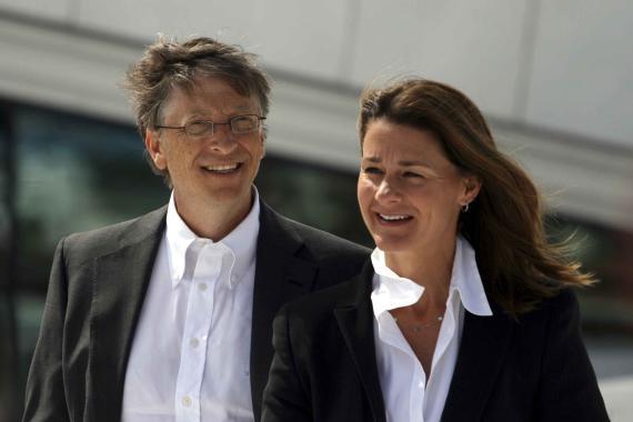 Bill Gates y Melinda Gates
