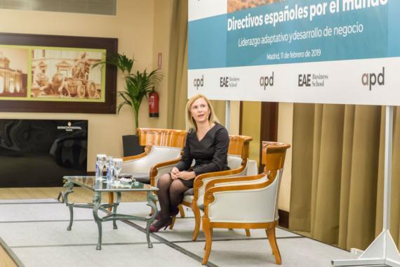Carolina García Gómez, CEO de Ikea en Polonia.