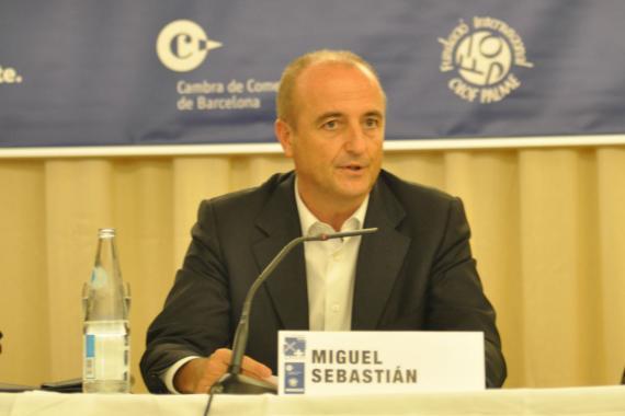 El exministro Miguel Sebastián.