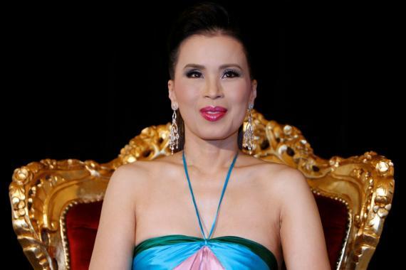 La princesa Ubolratana Rajakanya Sirivadhana Barnavadi de Tailandia.