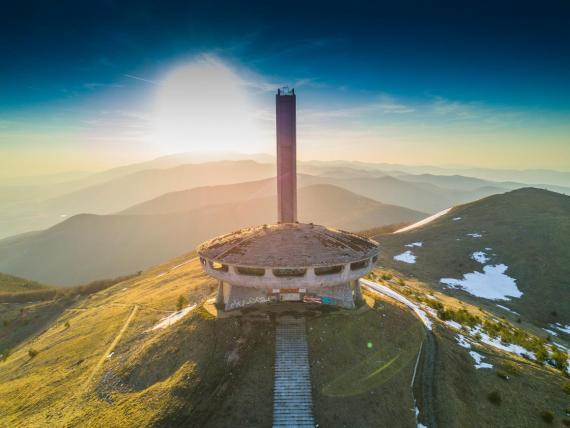 The Buzludzha Monument in Bulgaria is one such project.