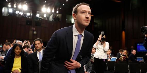 Mark Zuckerberg, CEO de Facebok.