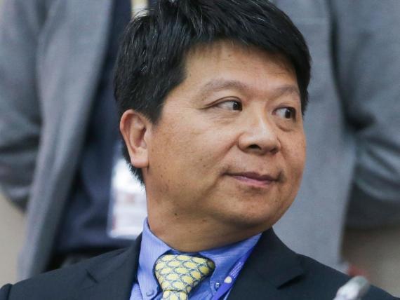 Guo Ping, presidente rotativo de Huawei.