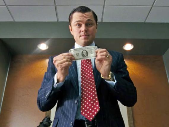 El lobo de Wall Street.