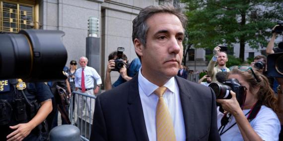 Michael Cohen, exabogado de Donald Trump.